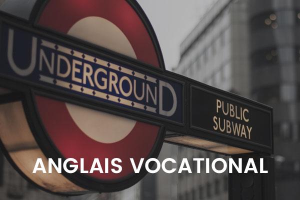 anglais-vocational